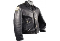 Leather Police Jackets & Hats